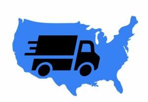 truck delivery to the united states